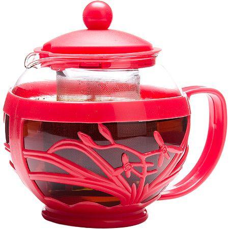 Заварочный чайник Mayer&Boch 750 мл стеклянный с нержавеющим ситом 26809