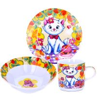 Детский набор LORAINE «Котенок» 3 предмета 25473