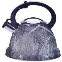 Чайник Mayer&Boch 3,2 л металлический со свистком цвет серый 29455