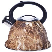 Чайник Mayer&Boch 3,2 л металлический со свистком материал нержавеющая сталь и пластик 29457