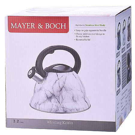 Чайник Mayer&Boch 3,2 л металлический 29458