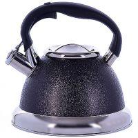 Чайник Mayer&Boch 3,2 л металлический со свистком цвет черный 29459