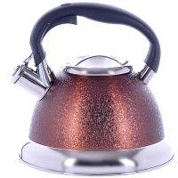 Чайник Mayer&Boch 3,2 л металлический со свистком цвет коричневый 29460