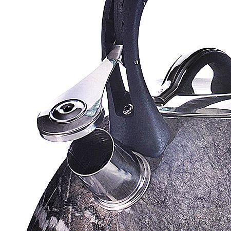 Чайник Mayer&Boch 3,2 л металлический со свистком цвет темно-серый 29463