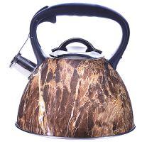 Чайник Mayer&Boch 3,2 л из нержавеющей стали со свистком цвет коричневый 29465