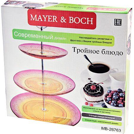 Ваза-конфетница Mayer&Boch 3-х ярусная 26763