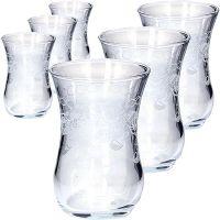 Набор стаканов 6 предметов для чая 120 мл MS42021-07
