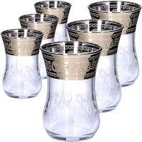 Набор стаканов 6 предметов для чая 120 мл MS42021-32