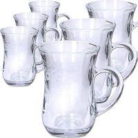 Набор стаканов 6 предметов для чая 140 мл MS55411-07