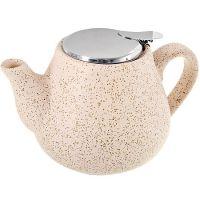 Чайник заварочный Loraine 600 мл бежевый 26595