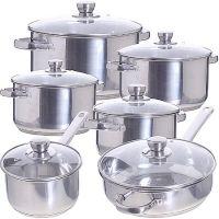 Набор посуды Mayer&Boch 12 предметов 2,1+2,1+2,5+2,8+3,2+5,8 л 30335