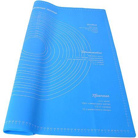Коврик Mayer&Boch синий 70x70 см из силикона 22086-2