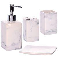 Набор для ванной комнаты Mayer&Boch из керамики в подарочной упаковке 29832