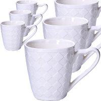 Набор кофейных чашек LORAINE 6 предметов 180 мл 29963