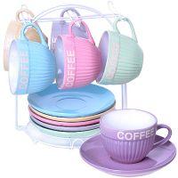 Чайный сервиз 13 предметов 200 мл на подставке 29898