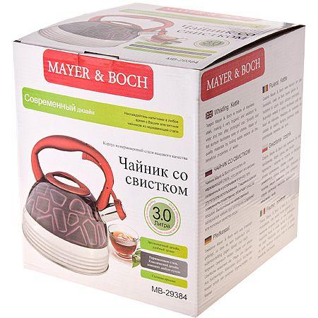 Чайник металлический Mayer&boch 3 л со свистком 29384