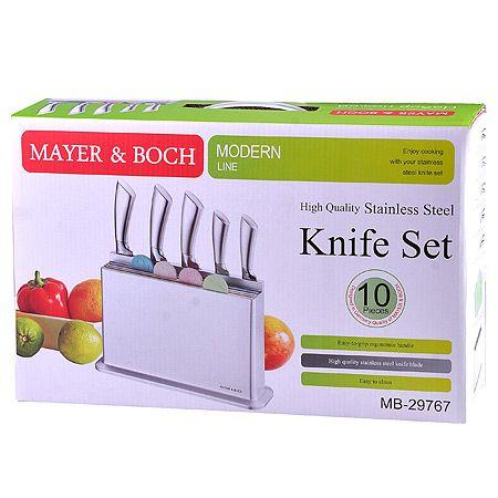 Набор ножей и доски на подставке Mayer&Boch 29767