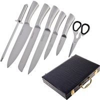 Набор ножей Mayer&Boch 8 предметов в чемодане 29763