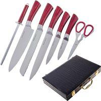 Набор ножей Mayer&Boch 8 предметов материал нержавеющая сталь в чемодане 29765
