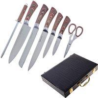 Набор ножей Mayer&Boch 8 предметов из нержавеющей стали в чемодане 29766