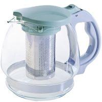 Чайник заварочный 1,5 л зеленый Mayer&Boch стекло 29717-2