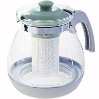 Чайник заварочный Mayer&Boch 1,6 л материал термостойкое стекло 29722-2