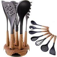 Набор кухонных принадлежностей Mayer&Boch 7 предметов и подставка 29520