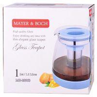 Чайник заварочный Mayer&Boch 1,8 л с черной ручкой и крышкой 29953
