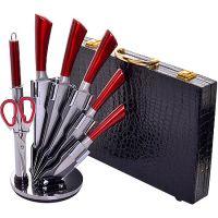 30580-29765 Ножи в чемодане 8пр + подставка MB(х1)
