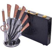 30580-29766 Ножи в чемодане 8пр + подставка MB(х1)