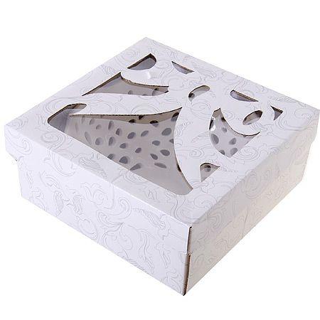 Блюдо LENARDI «КРУЖЕВА» круглое 18 см в подарочной упаковке 110-253
