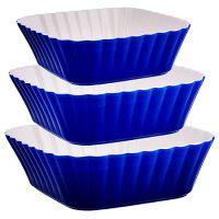 Набор салатниц Loraine 3 предмета керамические 29583