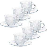 Чайный набор LENARDI 12 предметов цвет прозрачный 588-120