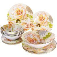 Набор стеклянной посуды LORAINE 19 предметов 28334
