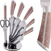Набор ножей Mayer&Boch 8 предметов материал нержавеющая сталь цвет рукояти коричневый 29665
