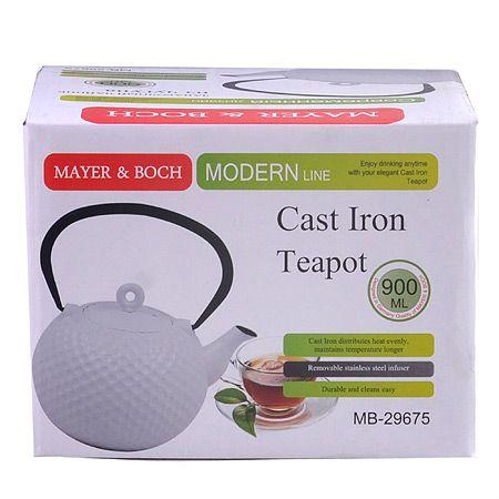 Чайник заварочный Mayer&Boch 900 мл материал чугун 29675