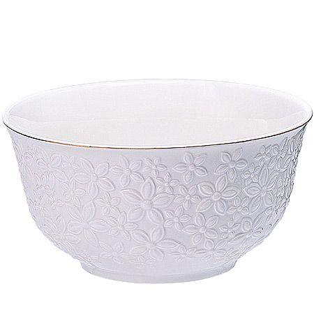 Набор салатниц Loraine 6 предметов 300 мл белого цвета 29867