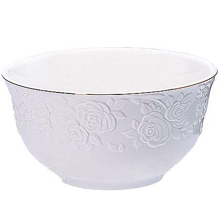 Набор салатниц Loraine 6 предметов 780 мл цвет белый 29873