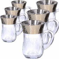 Набор стаканов 6 предметов для чая 140 мл MS55411-32