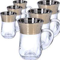 Набор стаканов 6 предметов для чая 140 мл MS55411-45