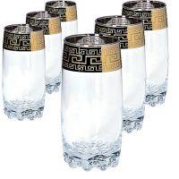 Набор 6 стаканов для коктейля 390 мл MS812-45