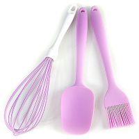 Набор кухонный Mayer&Boch 3 предмета материал силикон цвет фиолетовый 29849-2