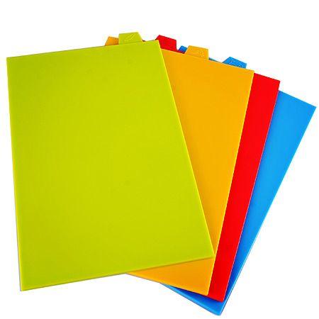 Набор разделочных досок Mayer&Boch 4 шт разноцветные 29638