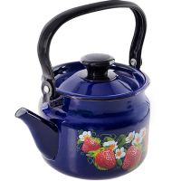 Чайник 2 л цилиндрический синий 42715-103-6-у4син