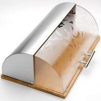 Хлебница Mayer&Boch 39x28 см материал нержавеющая сталь, бамбук 24194