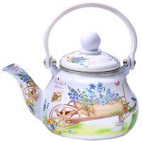 Заварочный чайник Mayer&Boch 800 мл эмалированный с ситом 29757