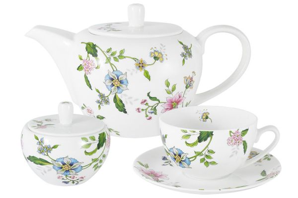 Чайный набор 14 предметов Provence Anna Lafarg Emily AL-214P-E11