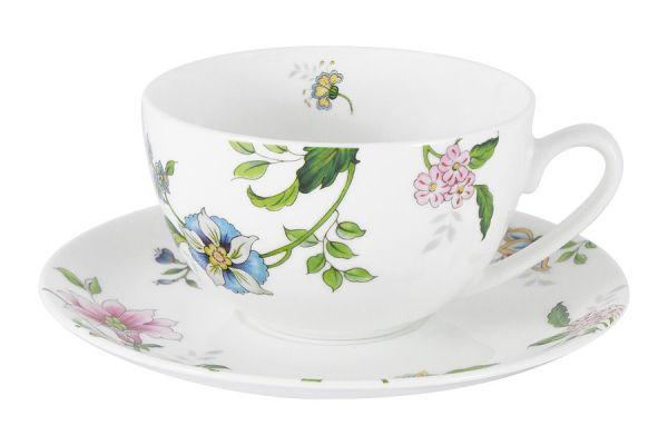 Чашка с блюдцем Provence Anna Lafarg Emily AL-203P-E11