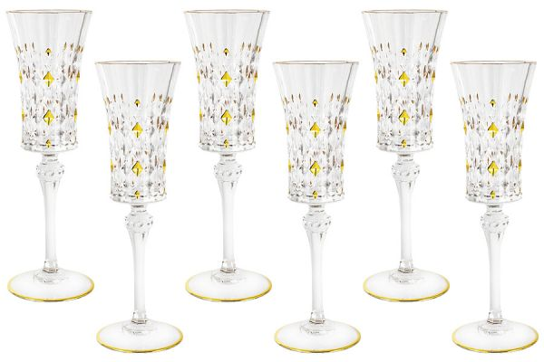 Набор: 6 бокалов для шампанского Флоренция Same SM3173_656