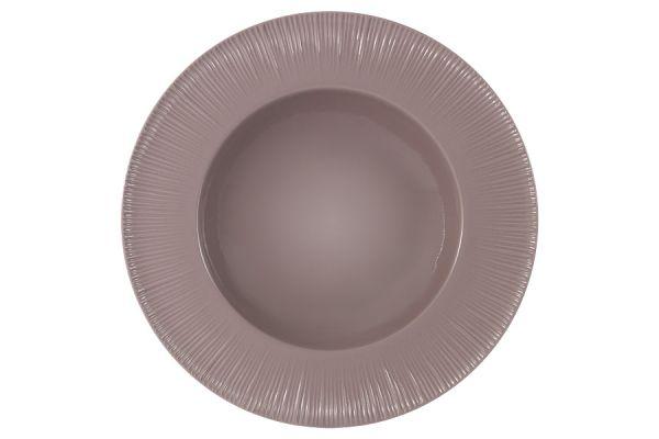 Тарелка суповая (какао) Home & Style HS4-G099-28G2S